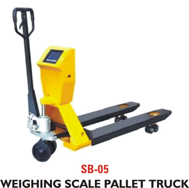 SB – 05 Weighing Scale Pallet Truck