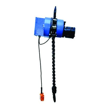 chain hoist motor rise