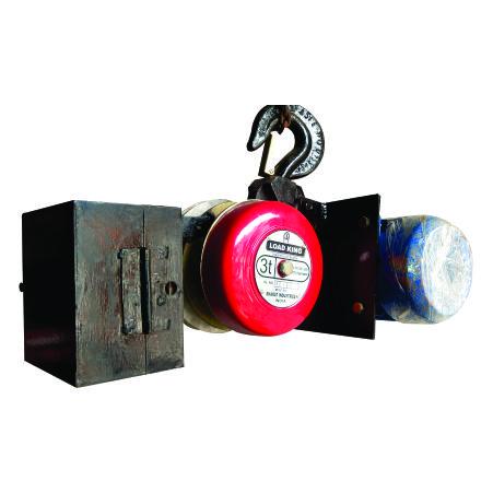 v belt drive chain block