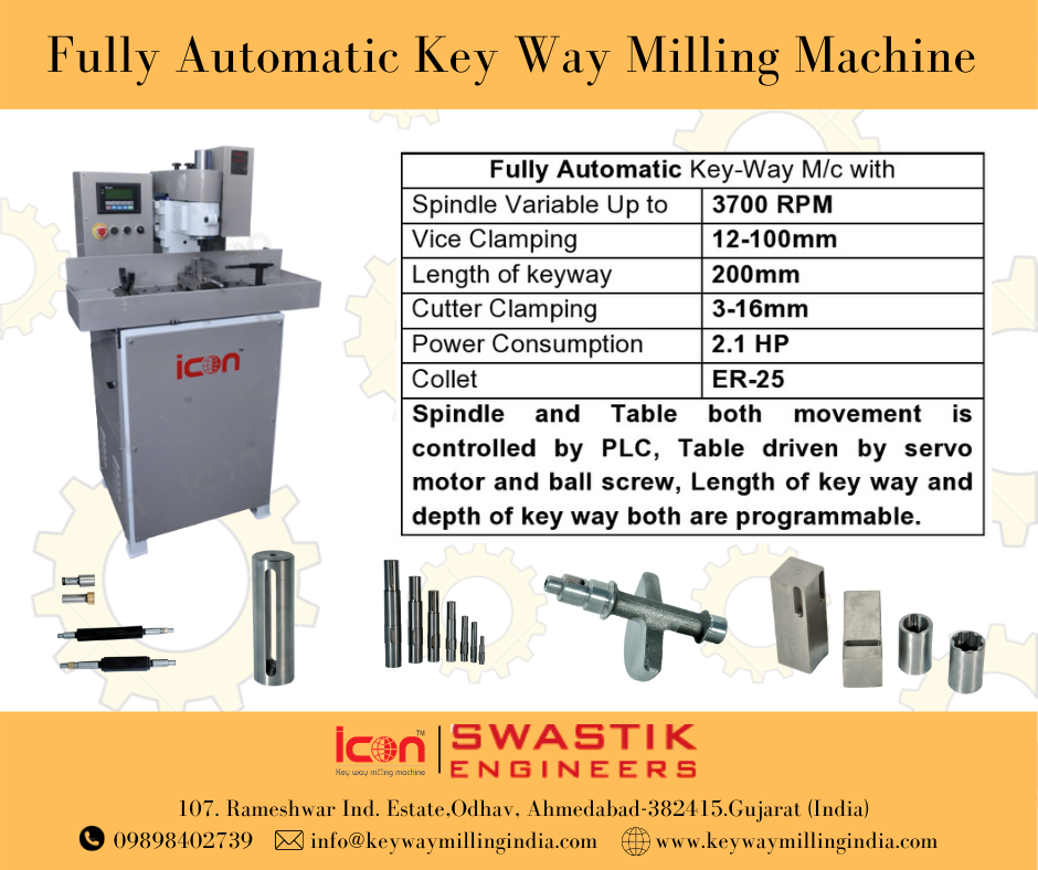 Fully Automatic keyway Milling Machine