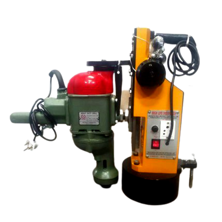 HL-200 (HEAVY DUTY MAGNETIC DRILL MACHINE WITH RALLI WOLF MAKES 25MM DRILL MACHINE )