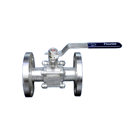 I.C. 3 PC ball valve 150 Flange Ends
